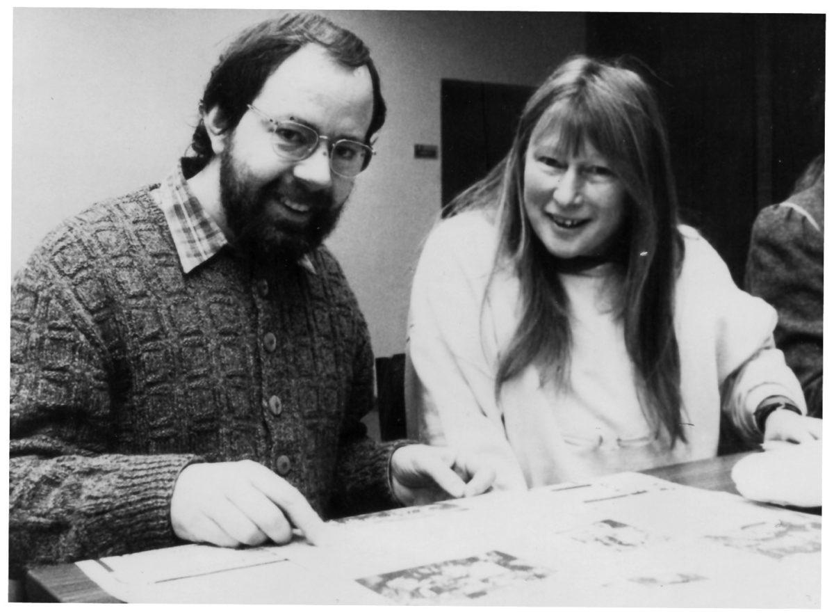 Lothar Berthold und Rotraut Grashey
